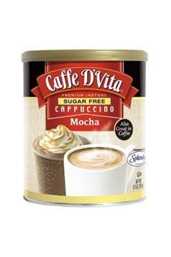 Picture of Caffe D'Vita Sugar Free Cappuccino Mocha