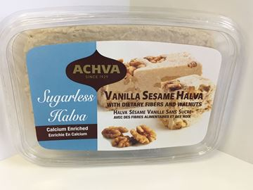 Picture of Achva Halva - Dietary Fibers and walnuts