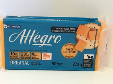 Picture of Allegro cheese - Coloured ( 270g ) 9 % M.F.