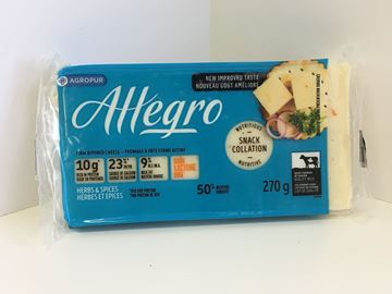 Picture of Allegro cheese - Herbs & Spices ( 270g ) 9 % M.F.
