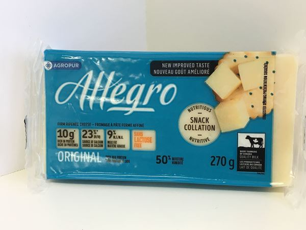 Picture of Allegro cheese - White  ( 270g ) 9 % M.F.