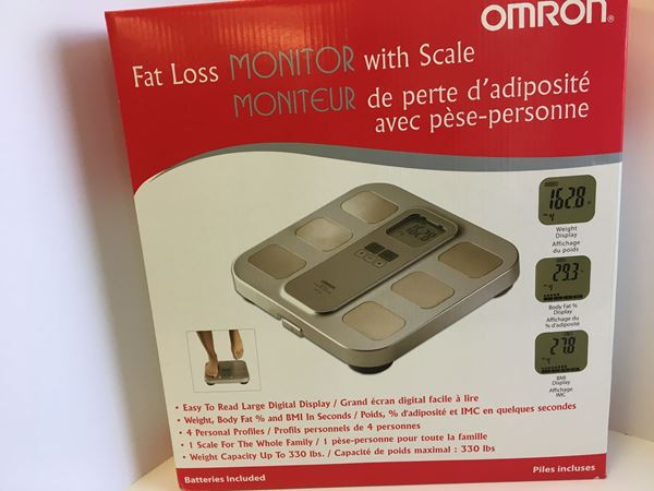 Picture of Omron Fat Loss Monitor and Scale
