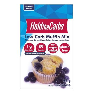 Picture of Hold The Carbs Muffin Mix 80g