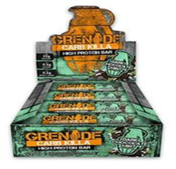 Picture of Grenade Carb killa Protein Bar - Dark Chocolate Mint box of 12
