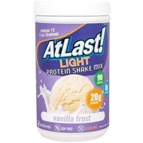 Picture of AtLast Light Protein Shake mix - Vanilla Frost