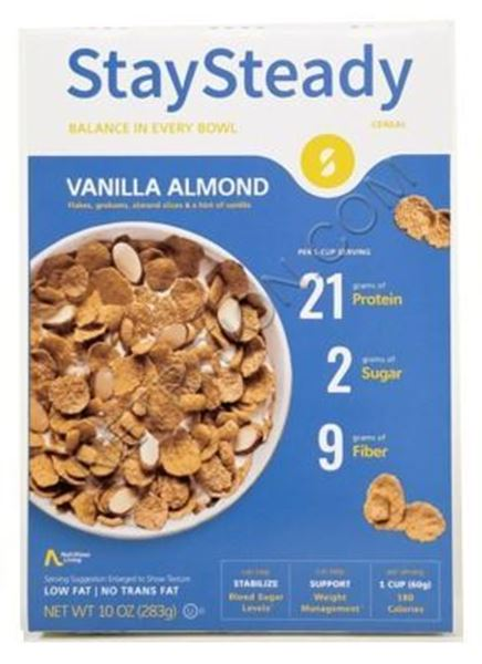 Picture of Cereal -Stay Steady ( HiLo)  Vanilla Almond