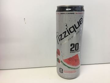 Picture of Fizzique Sparkling Protein Water - Strawberry Watermelon