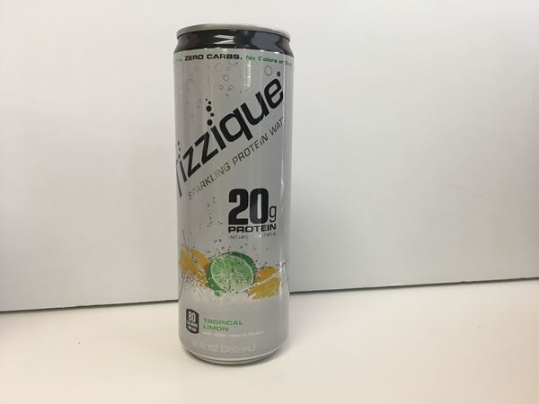 Picture of Fizzique Sparkling Protein Water - Tropcal Lemon