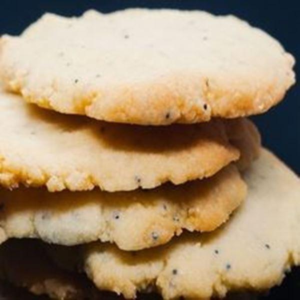 Picture of Keto Kookies - Traditional Lemon Poppyseed Shortbread