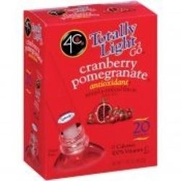 Picture of 4C Tottaly Light To Go Drink Mix - Cranberry Pomegranate