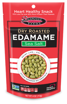 Picture of Sea Point Farms Dry Roasted Edamame - Sea Salt