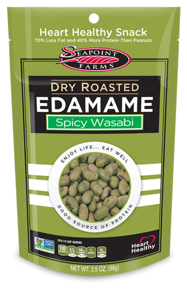 Picture of Sea Point Farms Dry Roasted Edamame - Spicy Wasabi