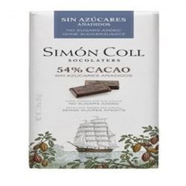 Picture of Simon Coll - Dark Chocolate 85g