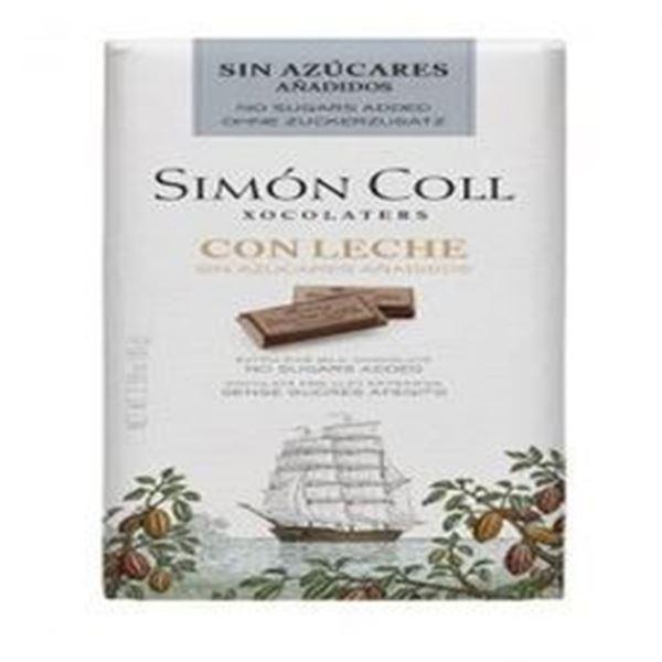 Picture of Simon Coll - Milk Chocolate 85g