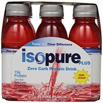 Picture of Drink ( Isopure ) - Alpine punch pack of 6