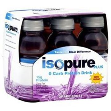 Picture of Drink ( Isopure ) - Grape frost pack of 6