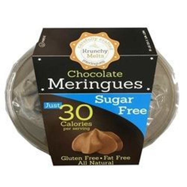 Picture of Krunchy Melts Meringues - Chocolate