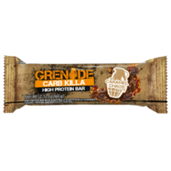 Picture of Grenade carb killa protein bar - Caramel Chaos