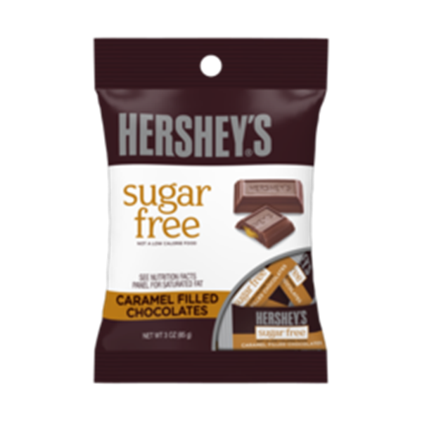 Picture of Hershey's - Caramel filled Chocolates