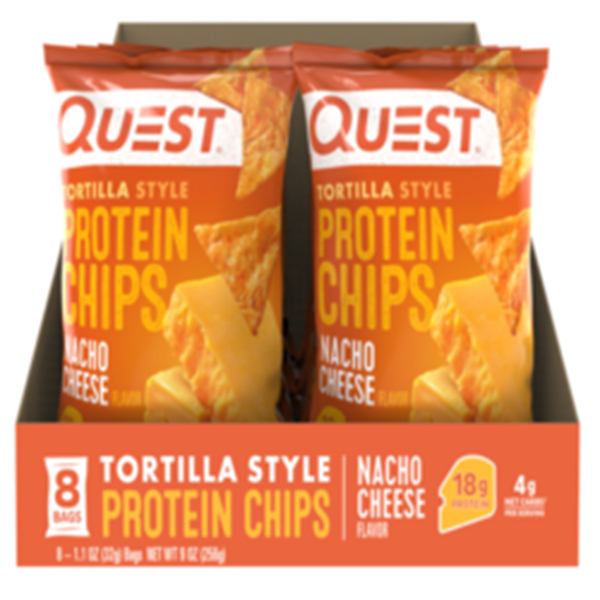 Picture of Quest protein chips - Nacho cheese Box Of 8