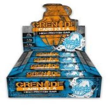Picture of Grenade carb killa protein bar - Cookies & Cream Box of 12