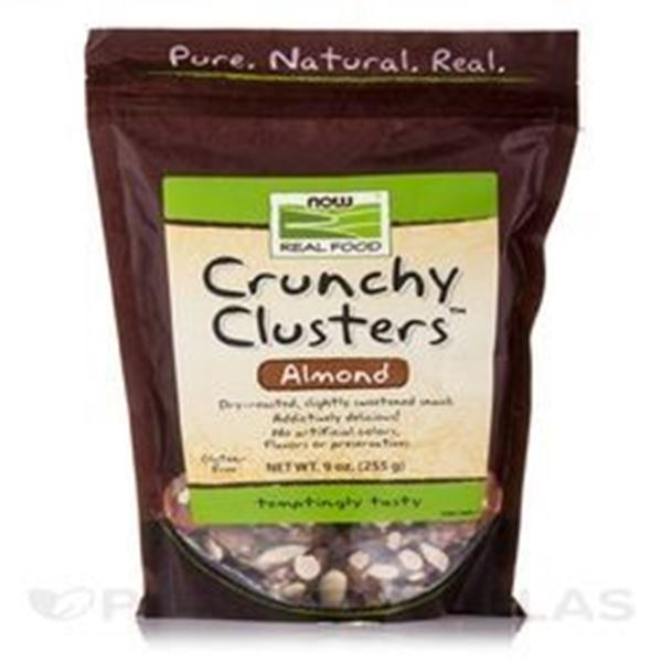 Picture of Now Crunchy Cluster Granola - Almond