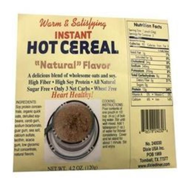 Picture of Hot cereal - Natural flavor