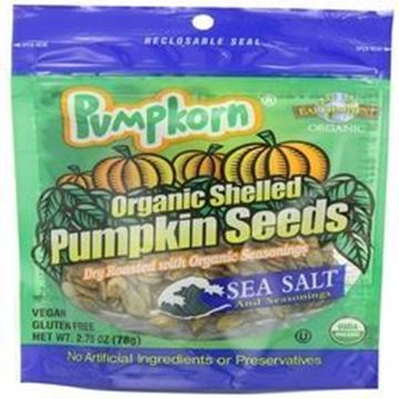 Picture of Pumpkorn Pumpkin Seeds - Sea Salt Organic