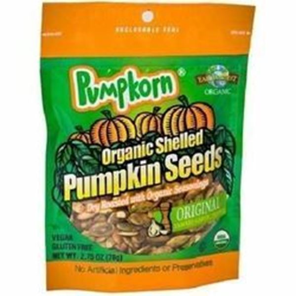 Picture of Pumpkorn Pumpkin Seeds - Original Organic
