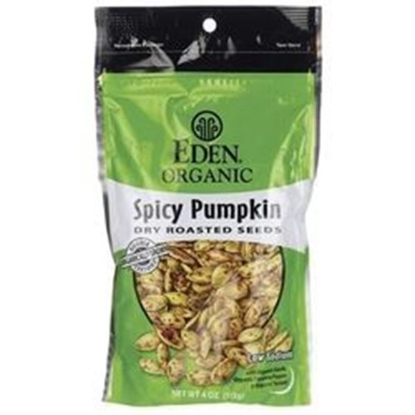 Picture of Eden pumpkin Seeds - Spicy Organic