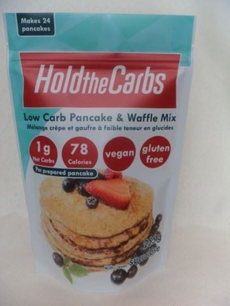 Picture of Hold the carbs - Low Carb Pancake & Waffle Mix 255g