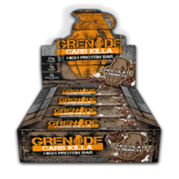 Picture of Grenade carb killa protein bar - Chocolate crunch  Box Of(12)