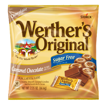 Picture of Candy (Werthers) - Caramel Chocolate