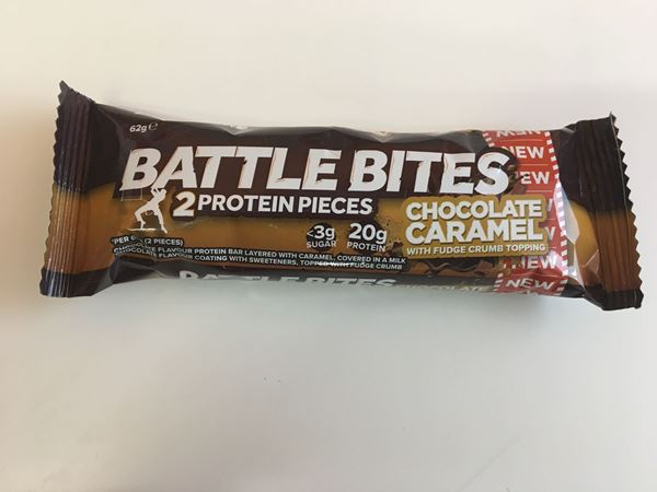 Picture of Battle Bites Protein Bar : Chocolate Caramel