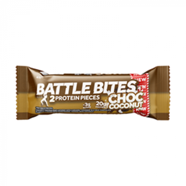 Picture of Battle Bites Protein Bar : Chocolate Coconut