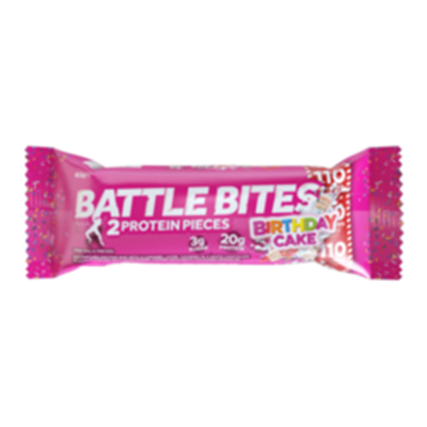 Picture of Battle Bites Protein Bar :  Birthday Cake