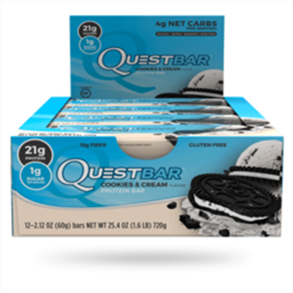 Picture of Quest Bar : Cookies & Cream