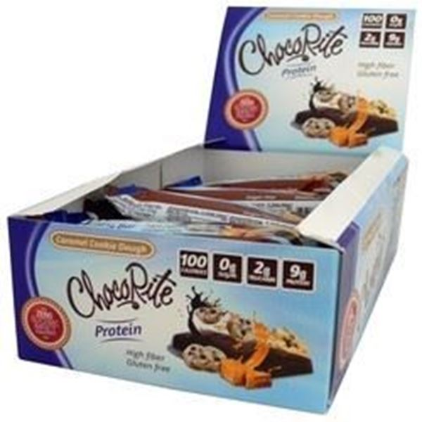 Picture of Chocorite Protein Bar (34g) - Caramel Cookie Dough Box Of 16