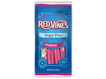Picture of Redvines twists - Strawberry  licorice