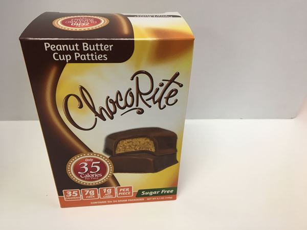 Picture of Healthsmart Chocorite Bar ( Value pack ) - Peanut Butter Cup Patties