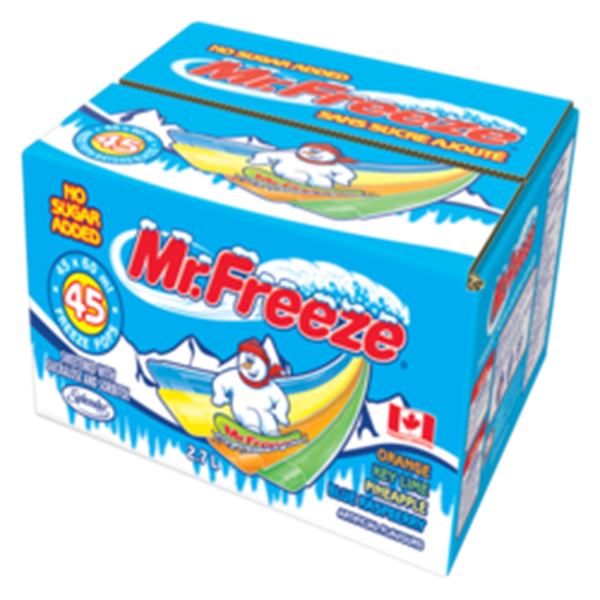 Picture of Mr. Freeze Freezies 45x60 ml
